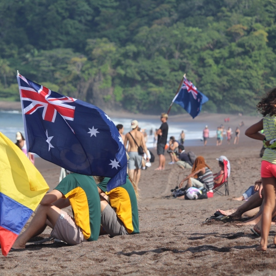 Surfing Playa Jaco Day #1 ISA world Contest 2016 069