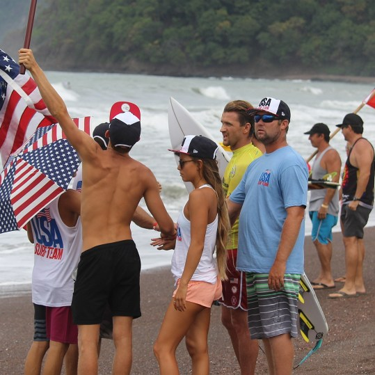 Surfing Playa Jaco Day #2 ISA world Contest 2016 055