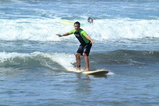 Surfing Calle Morales from a different angle 8